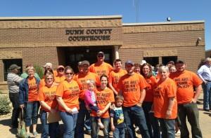 Dunn County Orange Shirt